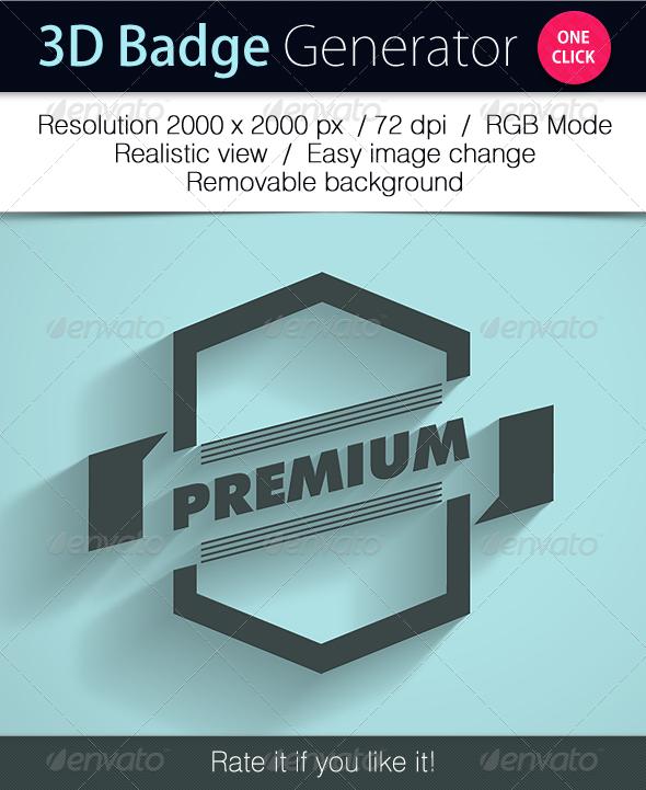 Grapulo's 3D Badge Generator