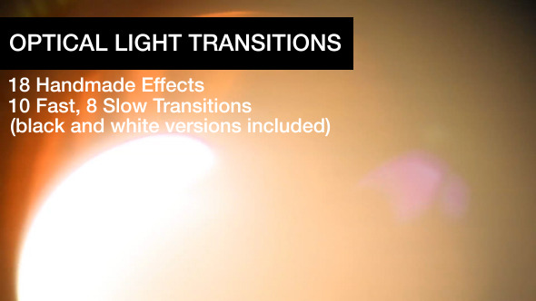 Optical Light Transitions
