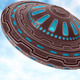 UFO of aliens  - GraphicRiver Item for Sale