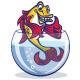 Golden Fish in Aquarium - GraphicRiver Item for Sale