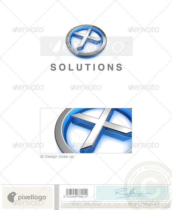 X Logo - 3D-683-X