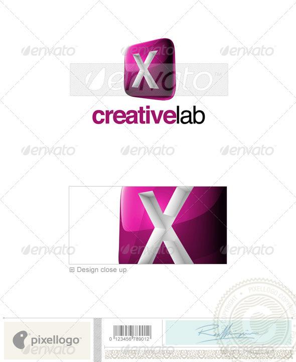 X Logo - 3D-687-X