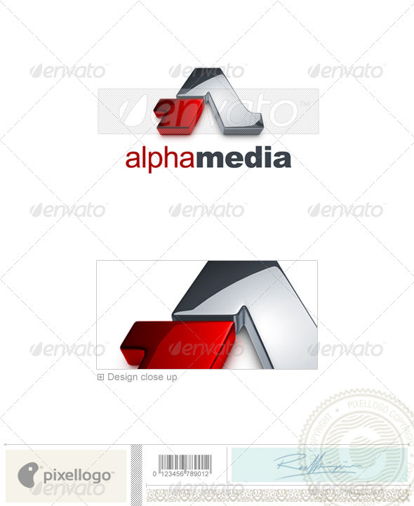 Marketing & Media Logo - 3D-726