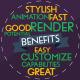 Typographic Presentation 2 - VideoHive Item for Sale