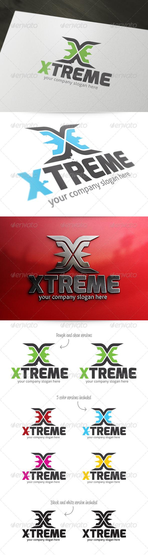 Letter X - Xtreme Logo