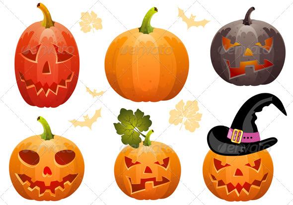 Collect Pumpkin for Halloween