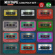 Mixtape Low Poly Model - 3DOcean Item for Sale