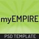myEmpire - Business Portfolio, Shop PSD - ThemeForest Item for Sale