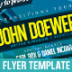 Electro and Progressive - Flyer Template - GraphicRiver Item for Sale