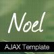 Noel - Onepage AJAX Template - ThemeForest Item for Sale