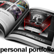 Personal Brochure / Portfolio Template - GraphicRiver Item for Sale