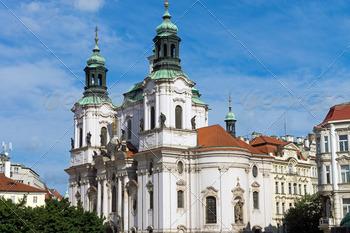 Download Church St. Nicolas in Prague