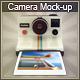 Vintage Camera Mock-Up - GraphicRiver Item for Sale