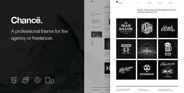Chancë - Responsive WordPress Theme