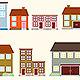 Retro House Icon Vol 1 - GraphicRiver Item for Sale