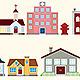 Retro House Icon Vol 2 - GraphicRiver Item for Sale