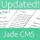 Jade CMS for PHP - CodeCanyon Item for Sale