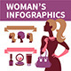 Fashion Woman's Infographics - GraphicRiver Item for Sale