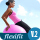 FlexiFit - One Page Scrolling Html5 Template  - ThemeForest Item for Sale