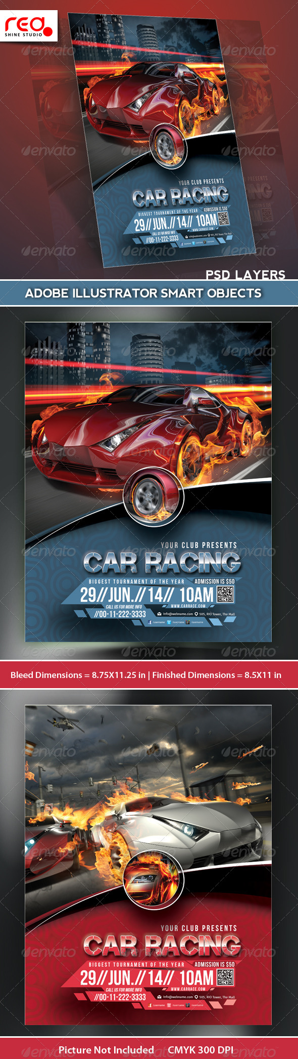F1 Graphics, Designs & Templates from GraphicRiver