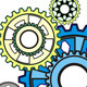 Industrial Still Life Arrangement of Gears - GraphicRiver Item for Sale
