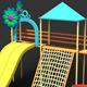 Cartoon Style Park - 3DOcean Item for Sale