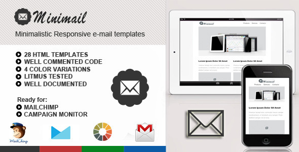 miniMail Responsive Email Template