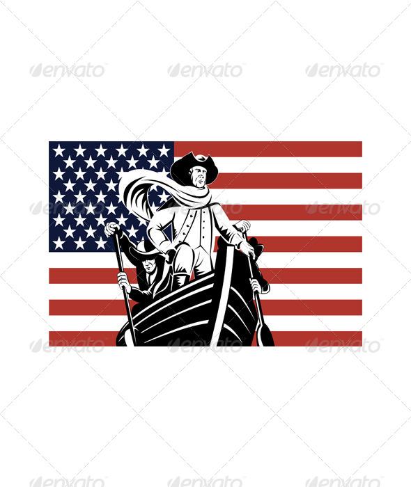 American Revolutionary General Patriot