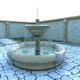 Fountain with Particle System - 3DOcean Item for Sale