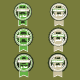 Set of Bio Badges - GraphicRiver Item for Sale