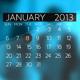 Corporate Calendar Timeline - VideoHive Item for Sale