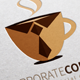 Corporate Coffee logo - GraphicRiver Item for Sale