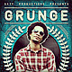 Grunge Flyer // Changeable color in 2 sizes - GraphicRiver Item for Sale