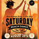 Grunge Retro Party Flyer - GraphicRiver Item for Sale