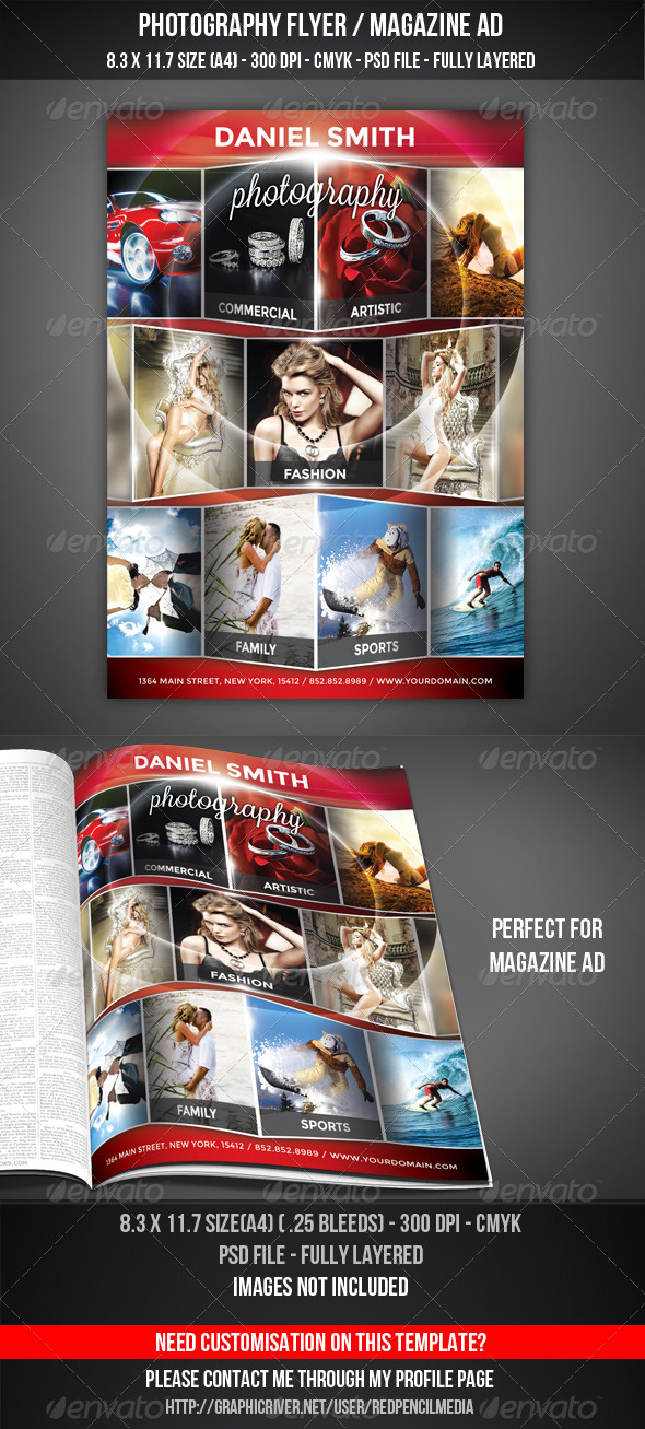 Magazine Business Flyer Templates from GraphicRiver (Page 9)