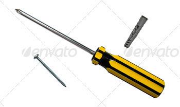Download Screwdriver and screws