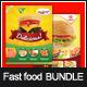 Bundle - Fastfood Flyer Template - GraphicRiver Item for Sale