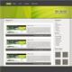 Blog Theme green - ThemeForest Item for Sale