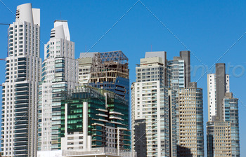 Download Skyscrapers in Buenos Aires