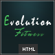 Evolution Fitness - Responsive HTML5 Template - ThemeForest Item for Sale