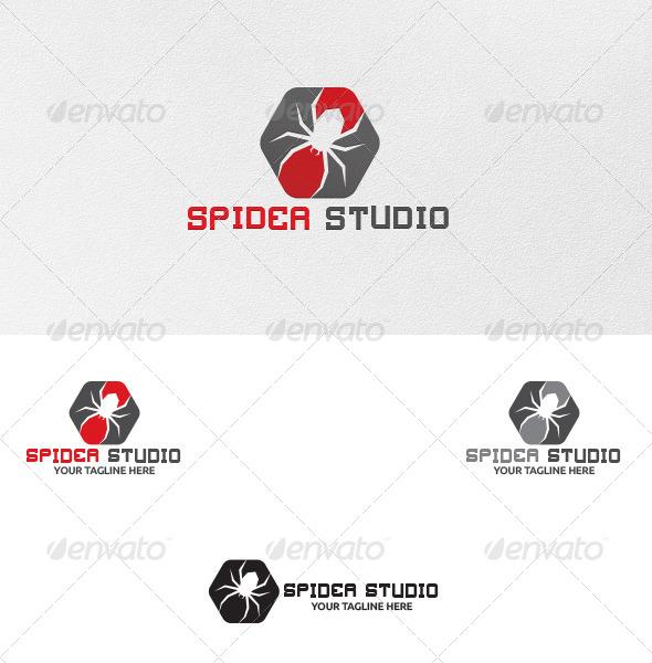 Spider Studio - Logo Template