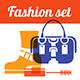 Set of Fashion Symbols - GraphicRiver Item for Sale