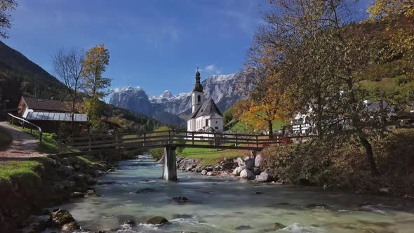 Church in Ramsau, Berchtesgaden, Germany