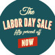 American Labor Day Sickers Collection - GraphicRiver Item for Sale