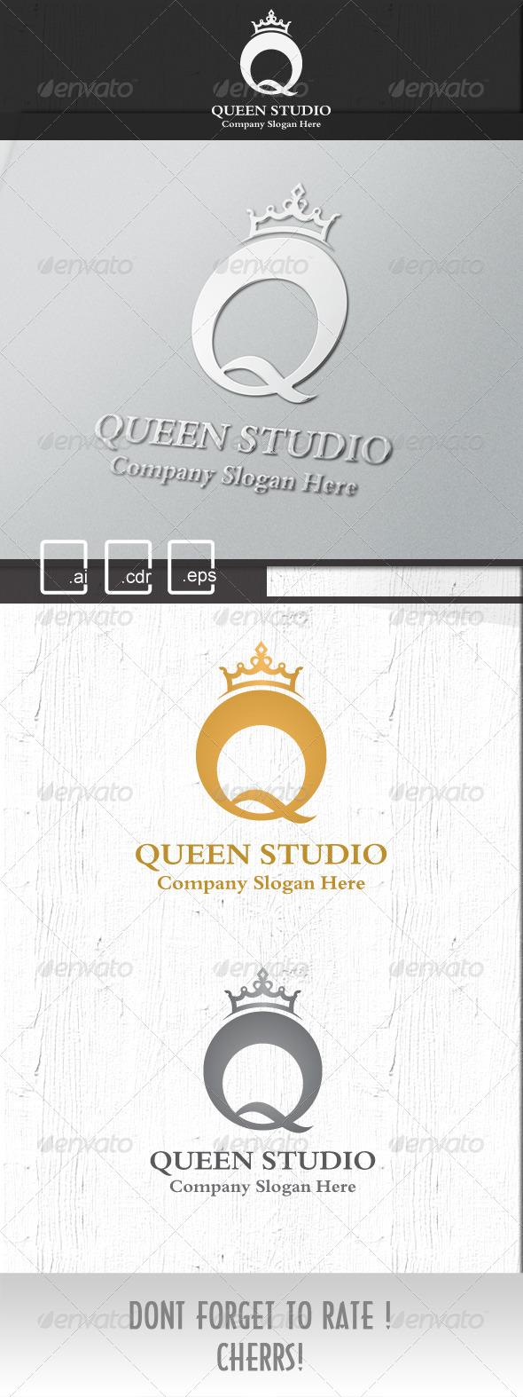 Queen Royal Studio logo