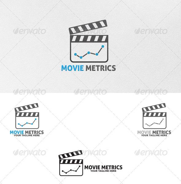 Movie Metrics - Logo Template