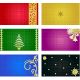 Holiday Cards Backgrounds - GraphicRiver Item for Sale