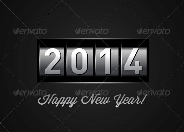 New Year Counter 2014