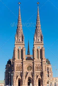 Download The basilica of Lujan