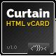 CURTAIN - Minimal vCard HTML5 Template - ThemeForest Item for Sale